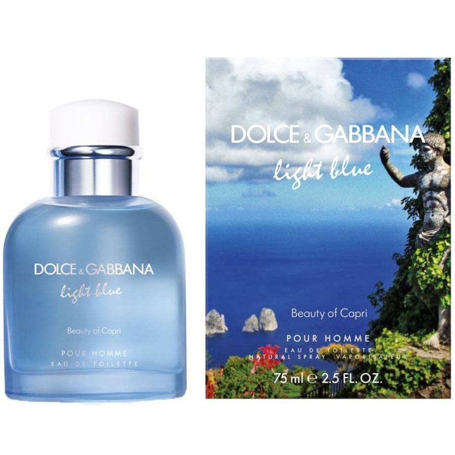 Dolce & Gabbana - Light Blue Pour Homme Beauty of Capri. M-125