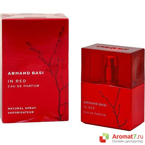 Armand Basi - In Red eau de parfum. W-50