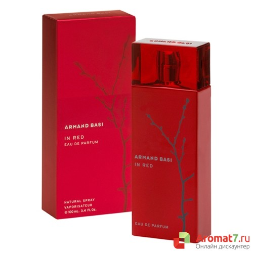 Armand Basi - In Red eau de parfum. W-100