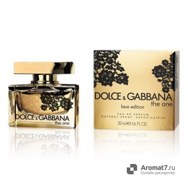 Dolce & Gabbana - The One Lace edition. W-75