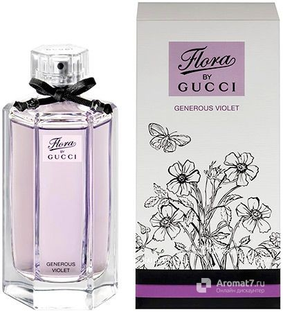 Gucci - Flora by Gucci Generous Violet. W-100