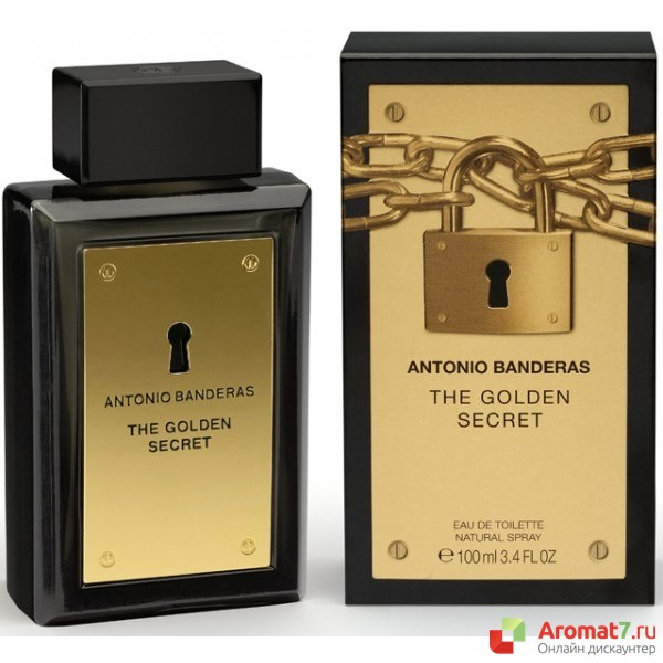 Antonio Banderas - The Golden Secret. M-100
