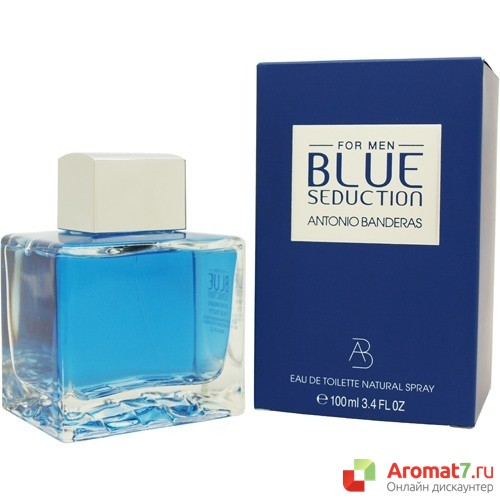 Antonio Banderas - Electric Seduction Blue. M-100