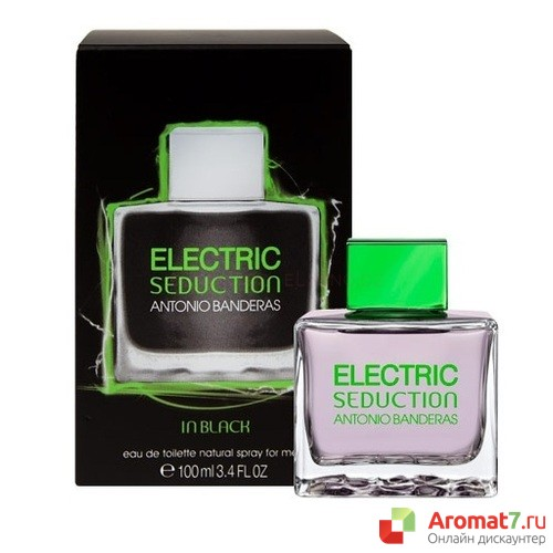 Antonio Banderas - Electric Seduction in Black. M-100